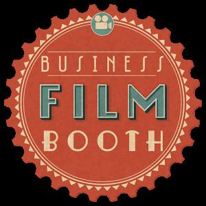 business film booth logo med